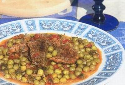 Corfu Recipes - Beef & Pea Stew