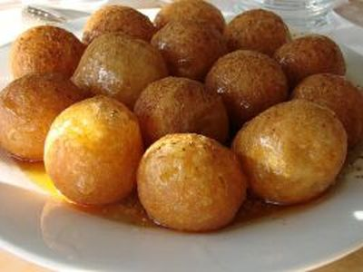 Corfu Recipes - Loukoumades