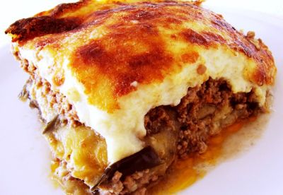 Corfu Recipes - Moussaka